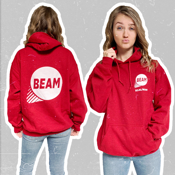 Word BEAM lid en koop je BEAM WEAR trui